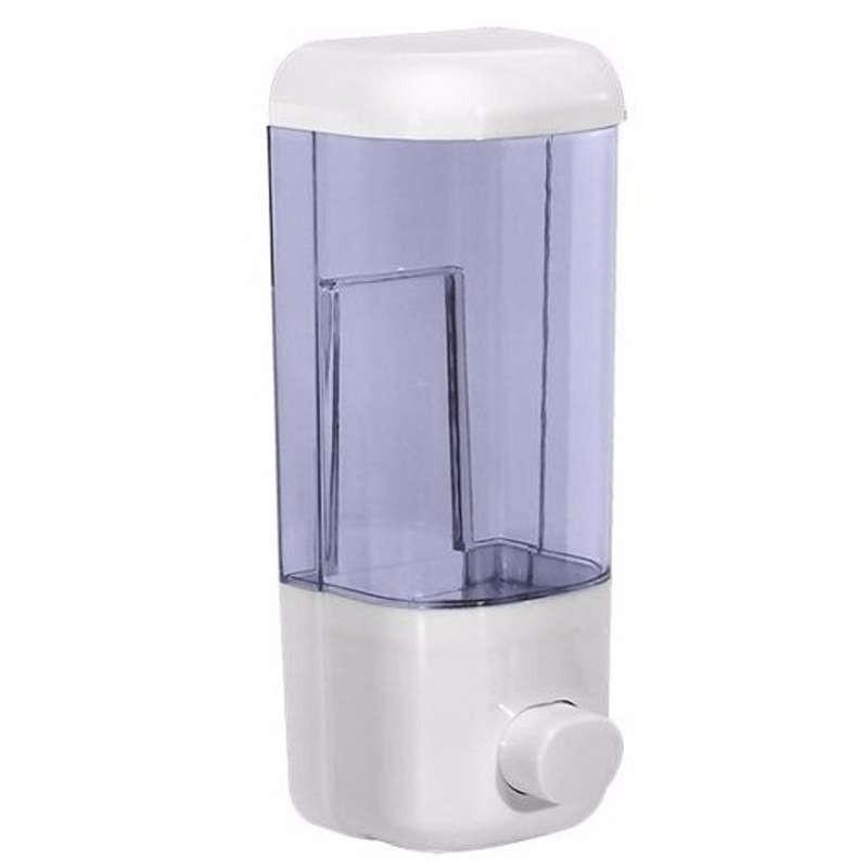 Saboneteira Porta Sabonete Líquido e Álcool Gel de Parede Em Acrílico Transparente 889992