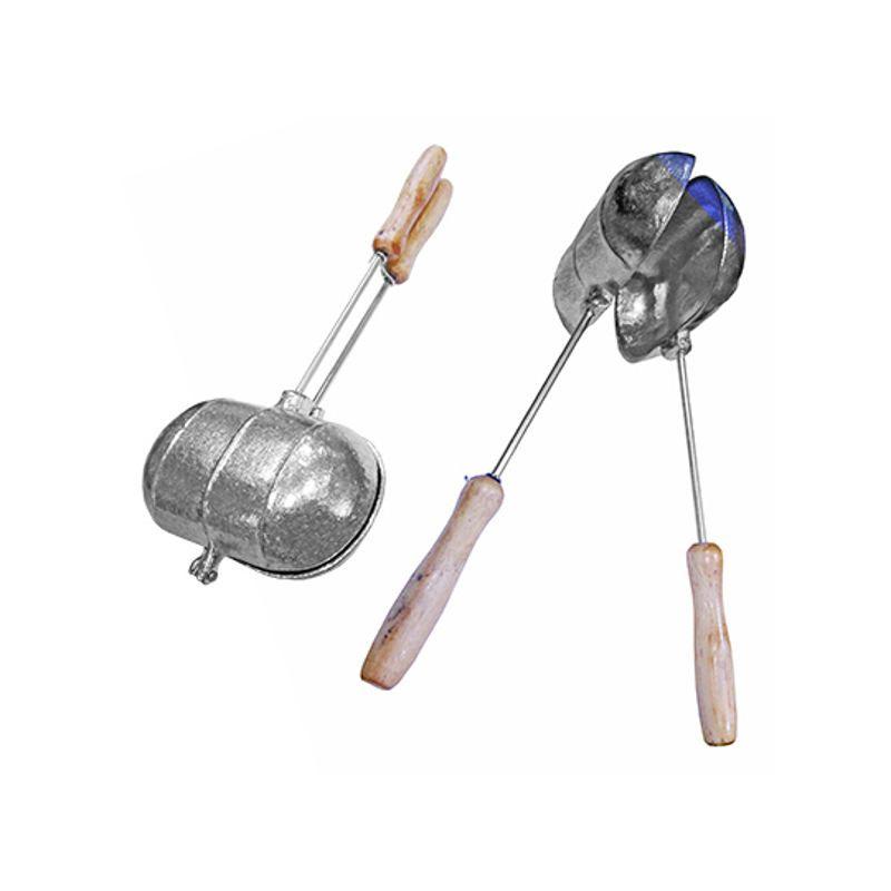 Sanduicheira Tostex Bauru de Alumínio para Fogão Pão Frances Simples MK