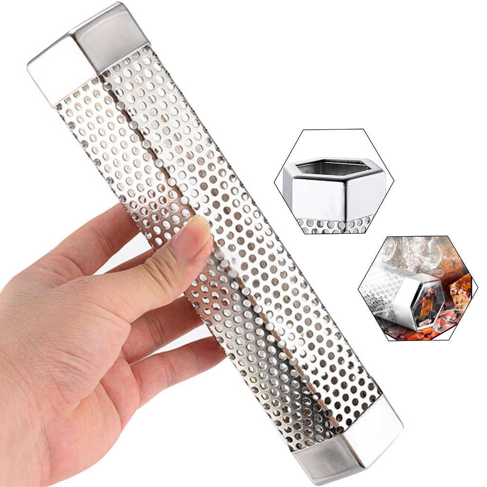 Smoke Box Inox Defumador para Churrasqueira em Caixa Inox AG4848