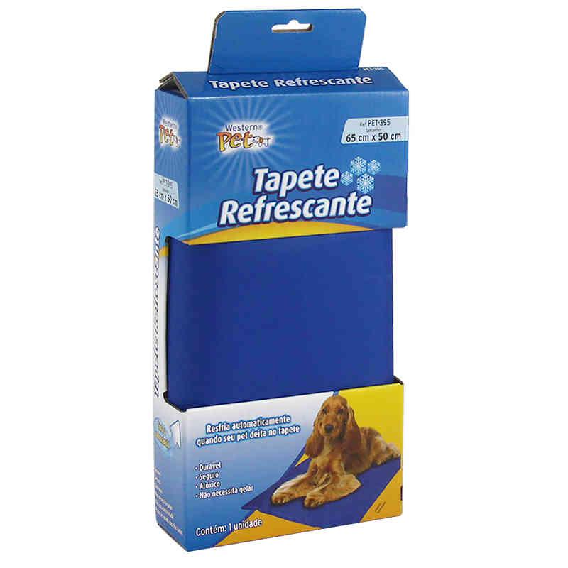 Tapete Refrescante para Cães 65x50cm com Gel Western PET-395