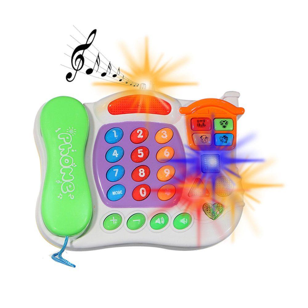 Telefone Musical Matemática e Música em Inglês Art Brink NA21207W