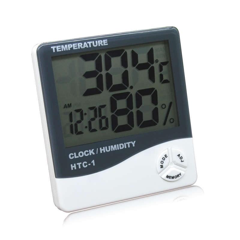 Termômetro de Máxima e Mínima com Higrômetro HTC-1