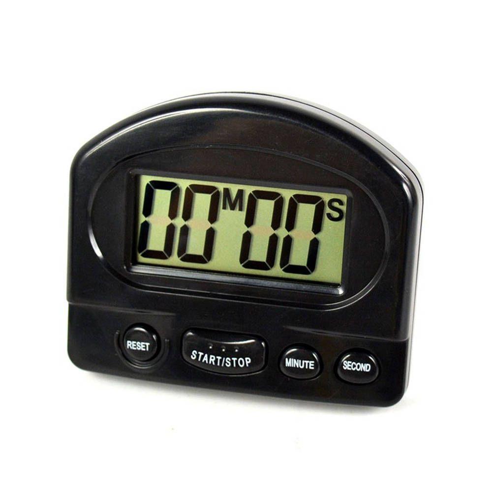 Timer Temporizador para Cozinha Digital Preto 331
