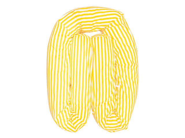 Almofada Protetora Multifuncional - Listras Amarelas