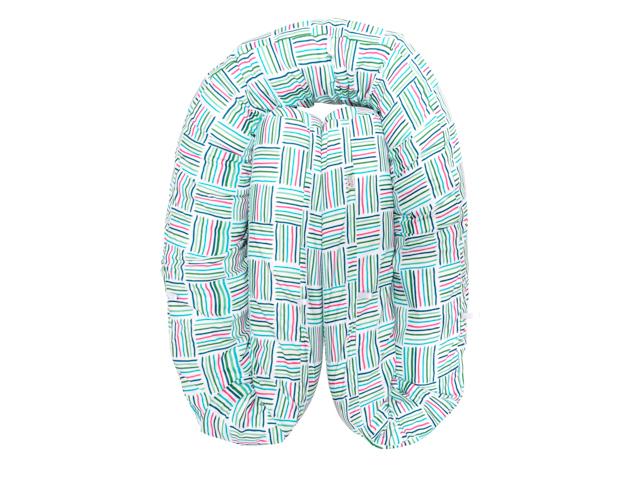 Almofada Protetora Multifuncional - Xadrez Verde