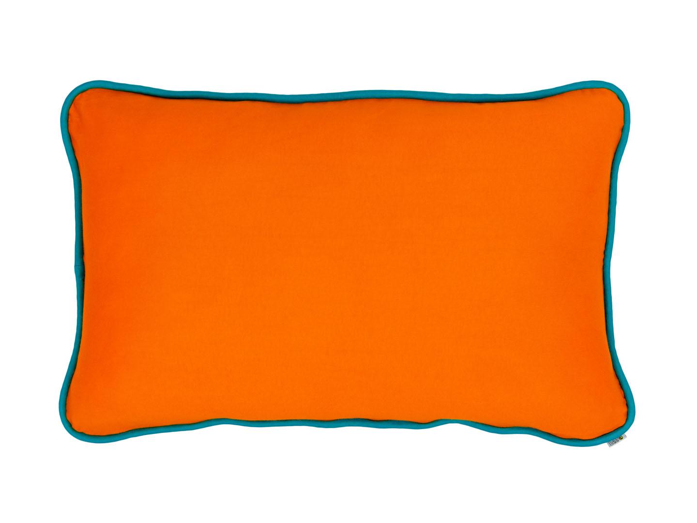 Almofada Retangular Lisa com viés - lisa cores