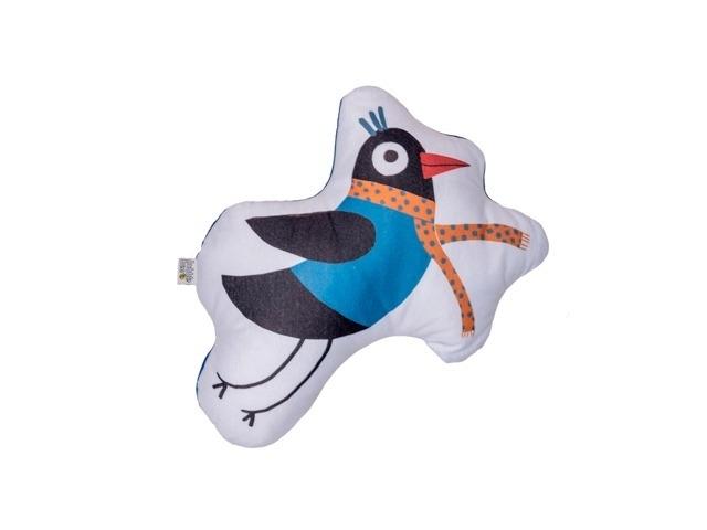 Almofada Toy Pássaro Preto