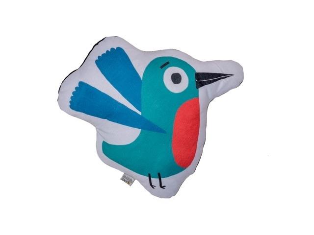 Almofada Toy Pássaro Verde