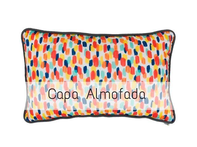 CAPA Almofada de Cabeceira Retangular Bossa Nova