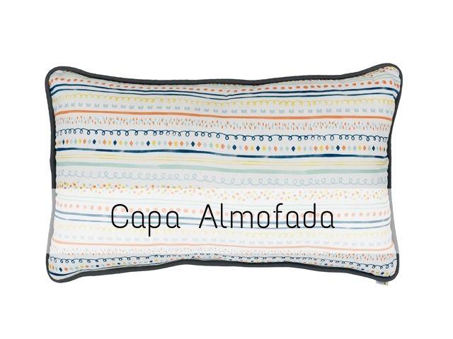 CAPA Almofada de Cabeceira Retangular Festas Brasileiras