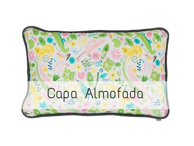 CAPA Almofada de Cabeceira Retangular Pantanal
