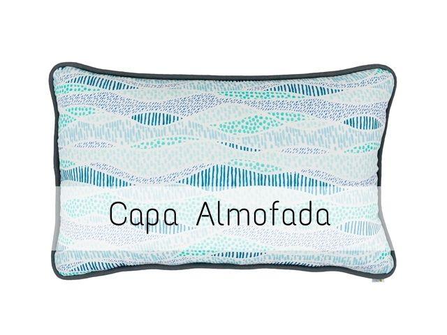 CAPA Almofada de Cabeceira Retangular Rios do Brasil