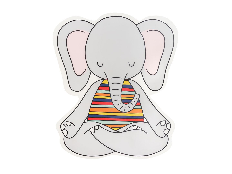 Tapete Banheiro Elefante Yogini