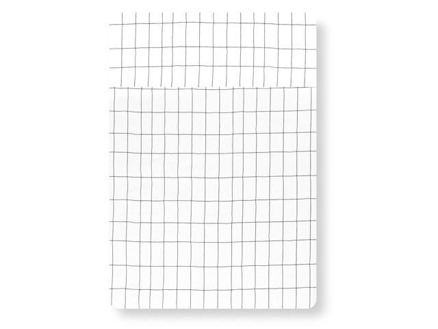 Lençol Berço Grid PB