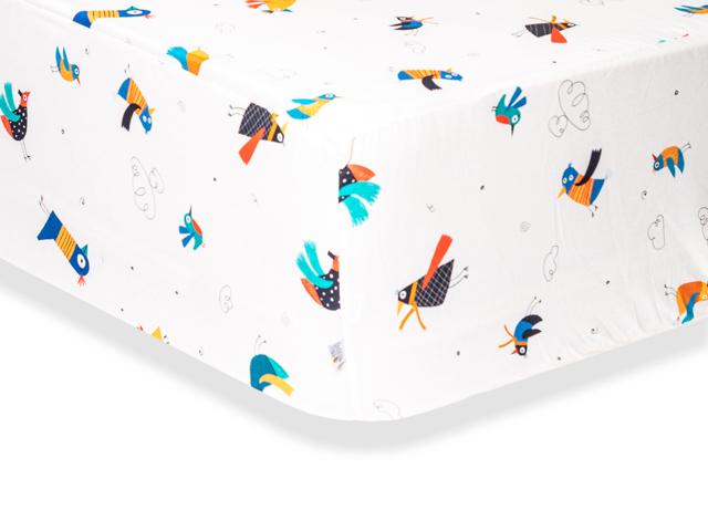 Lençol Casal Pássaros (Ar)