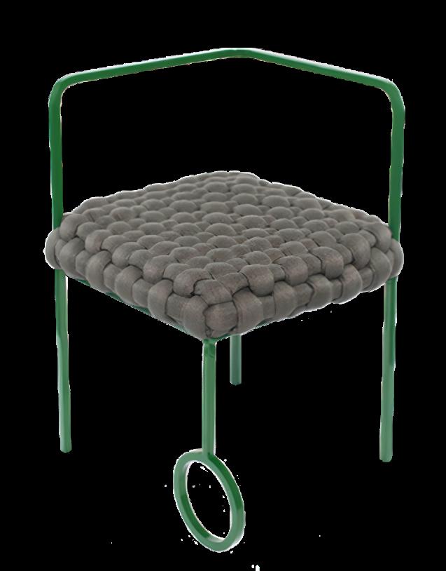 Cadeira Anelar · Humberto da Mata