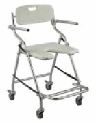 Cadeira de banho em alumínio ZIMEDICAL ALK405L-3