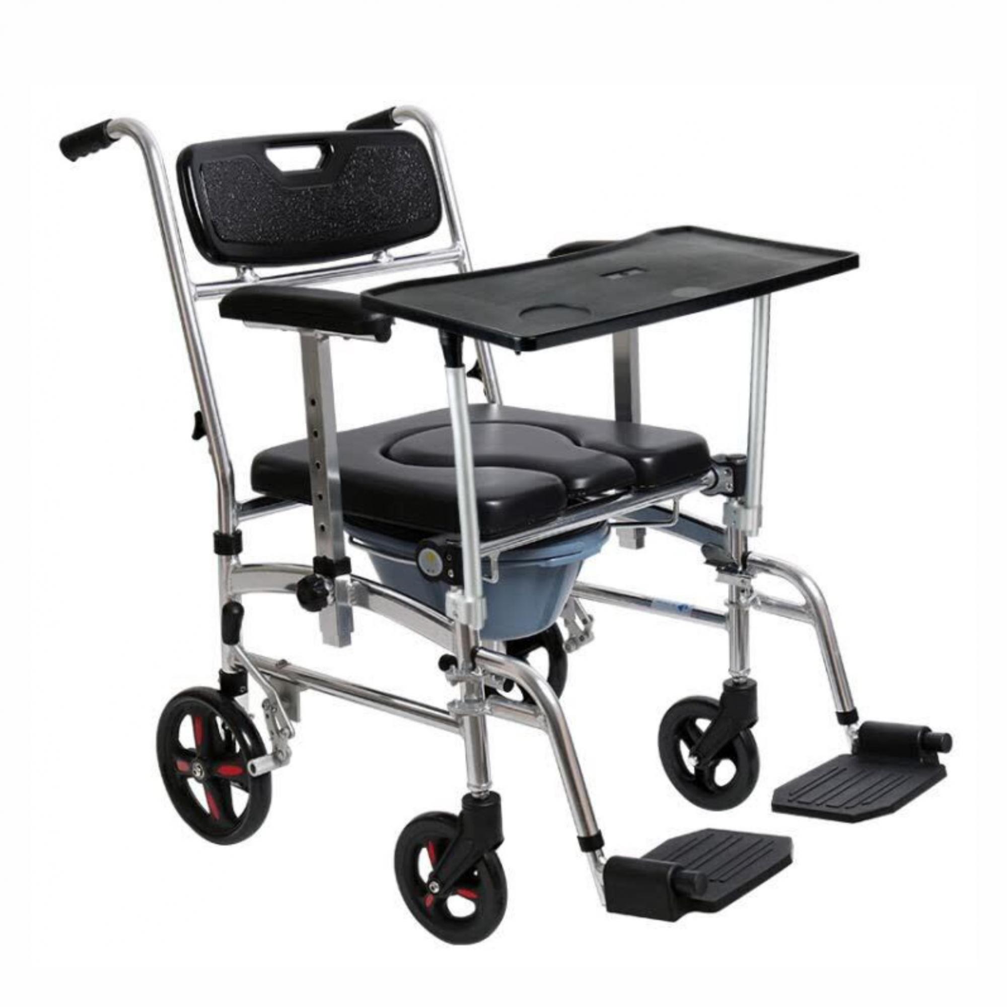 Cadeira de banho em alumínio dobrável ZIMEDICAL FST7808E