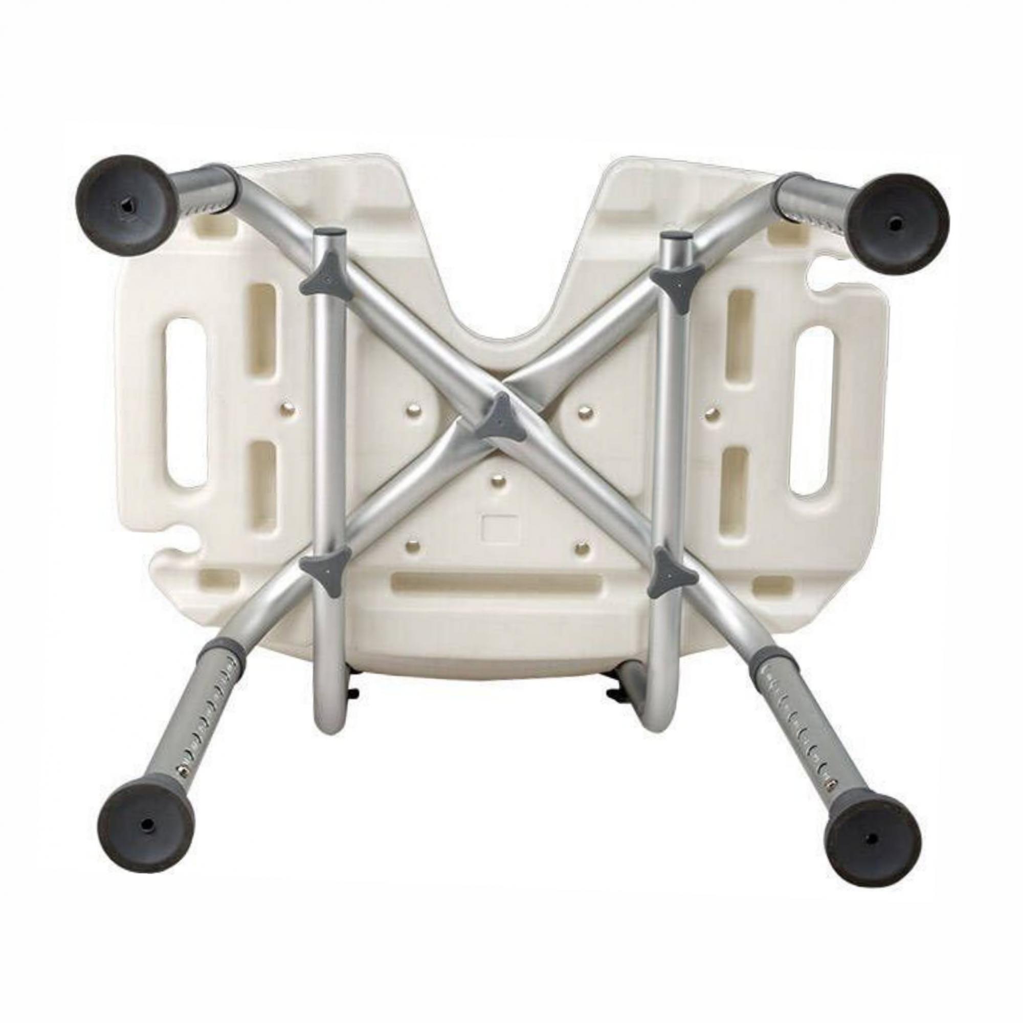 Cadeira de banho em alumínio ZIMEDICAL FST5101A