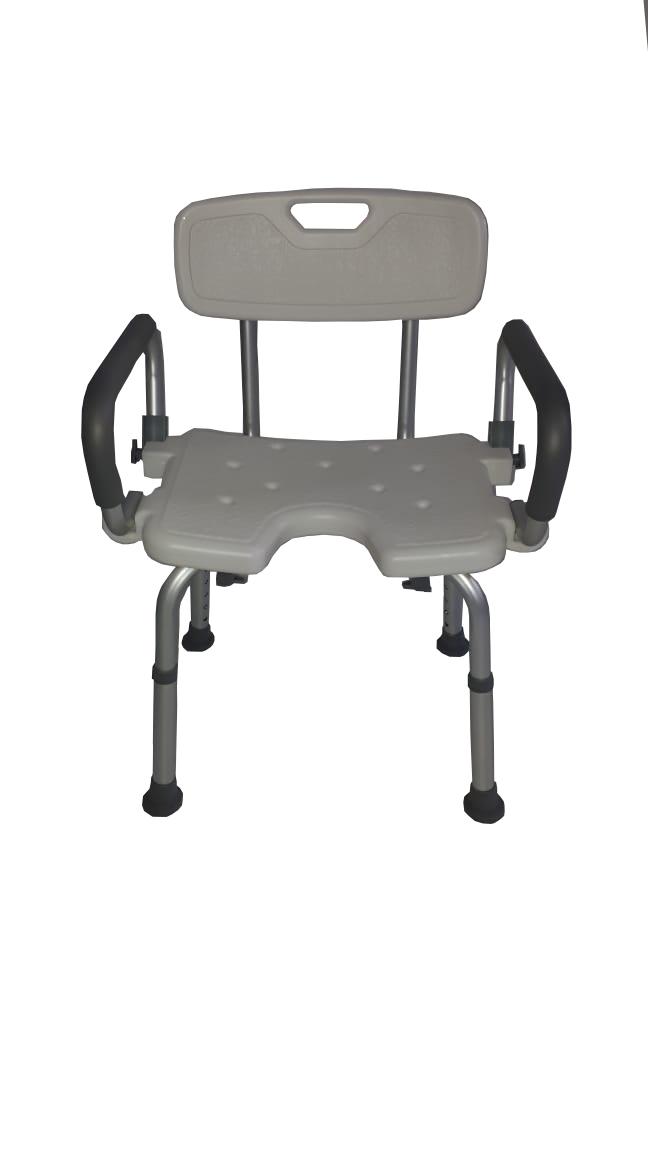Cadeira de Banho em Alumínio ZIMEDICAL FST5209