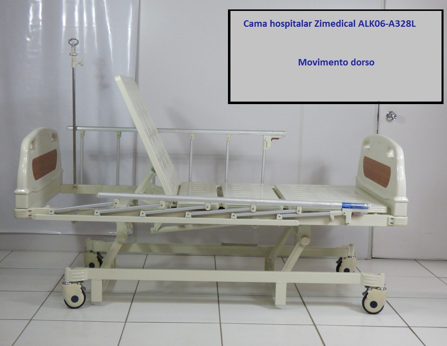 Cama Hospitalar Manual 3 movimentos ALK06 A328L