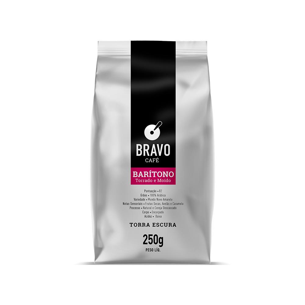 Café Bravo Gourmet Moído - Barítono