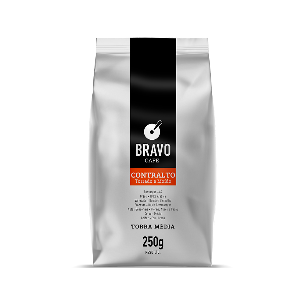 Café Bravo Gourmet Moído - Contralto