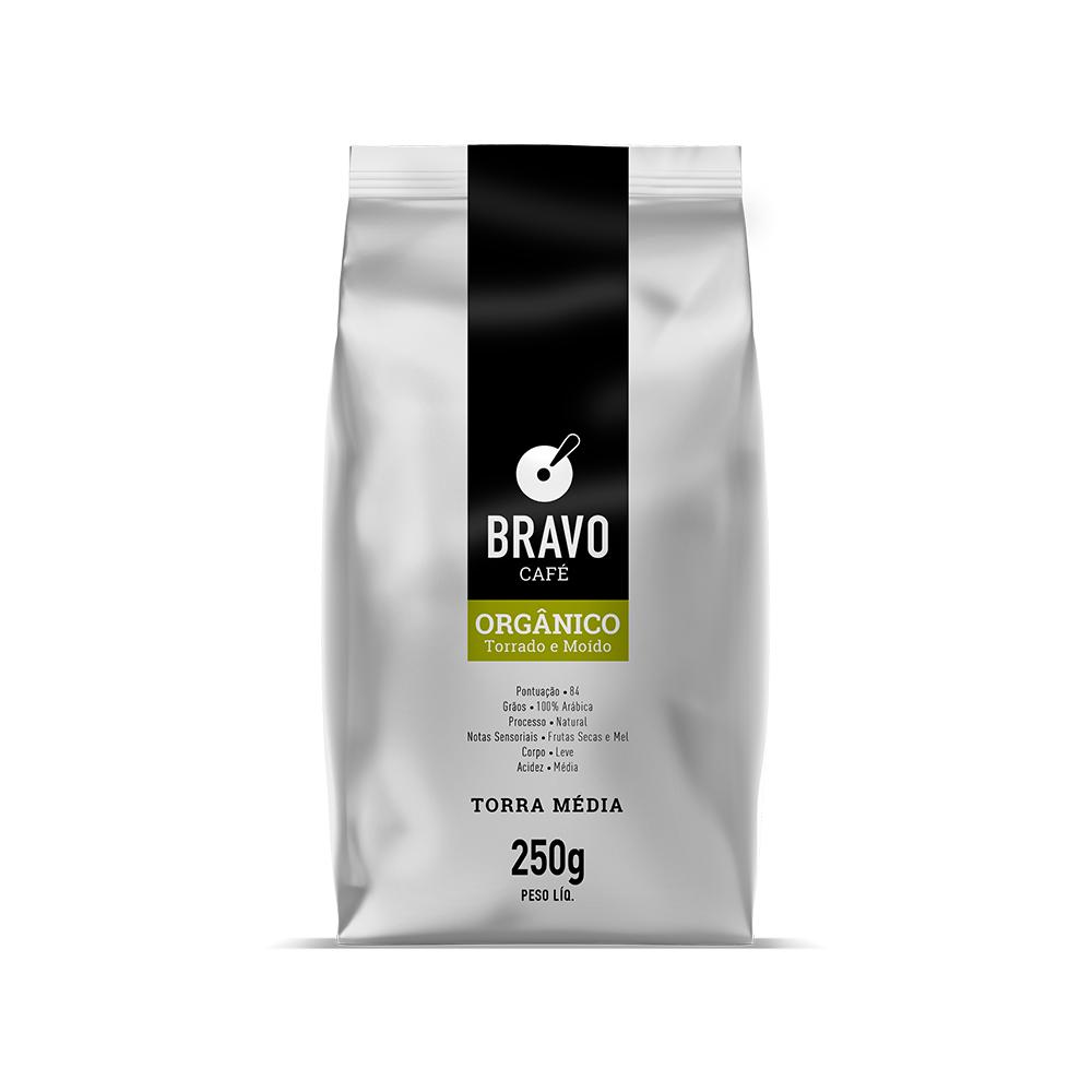 Café Bravo Gourmet Moído - Orgânico