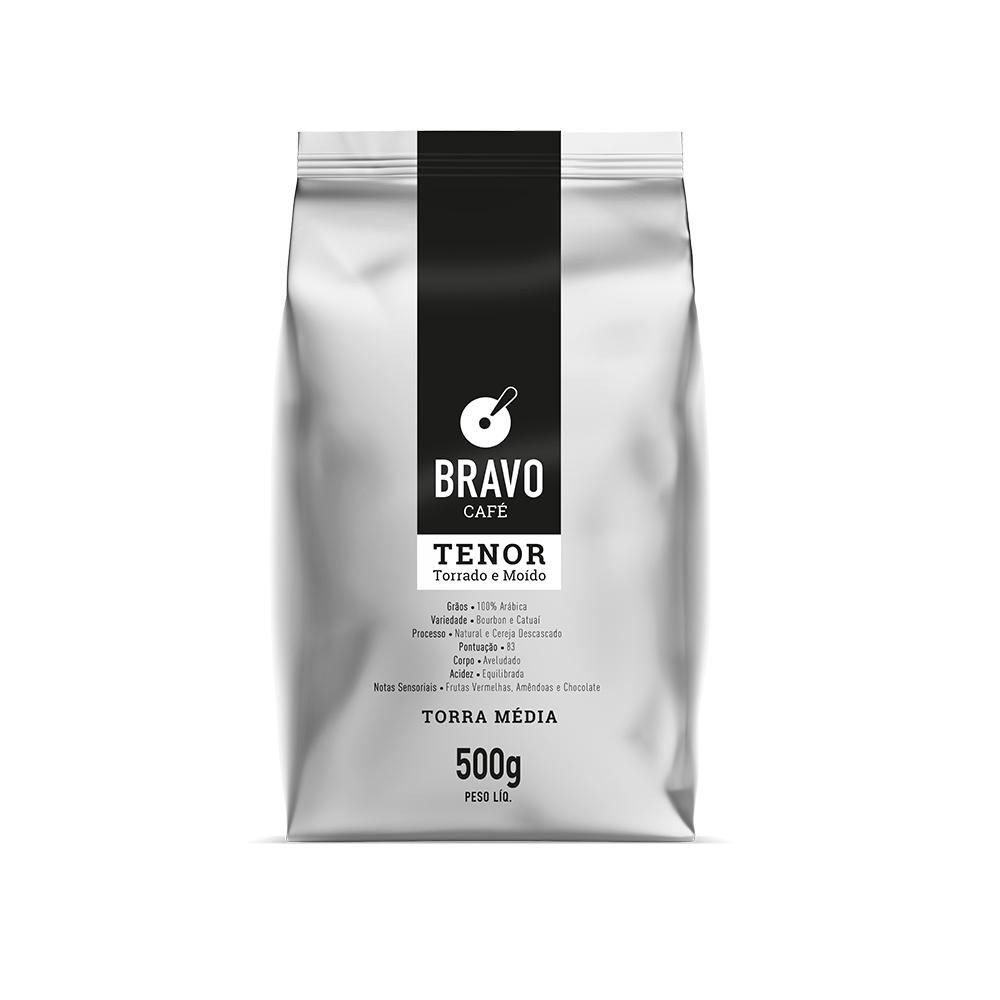 Café Bravo Moído Tenor - 500g