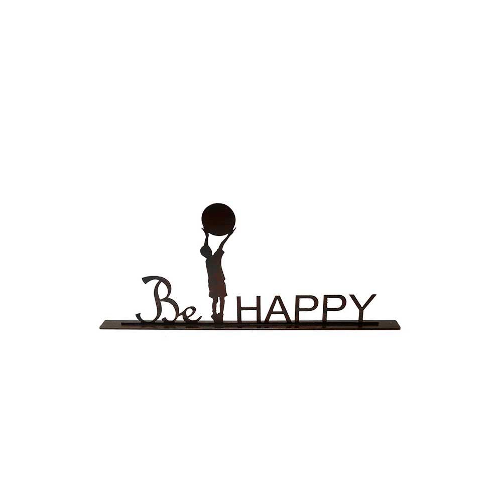 ESCULTURA DE MESA BE HAPPY