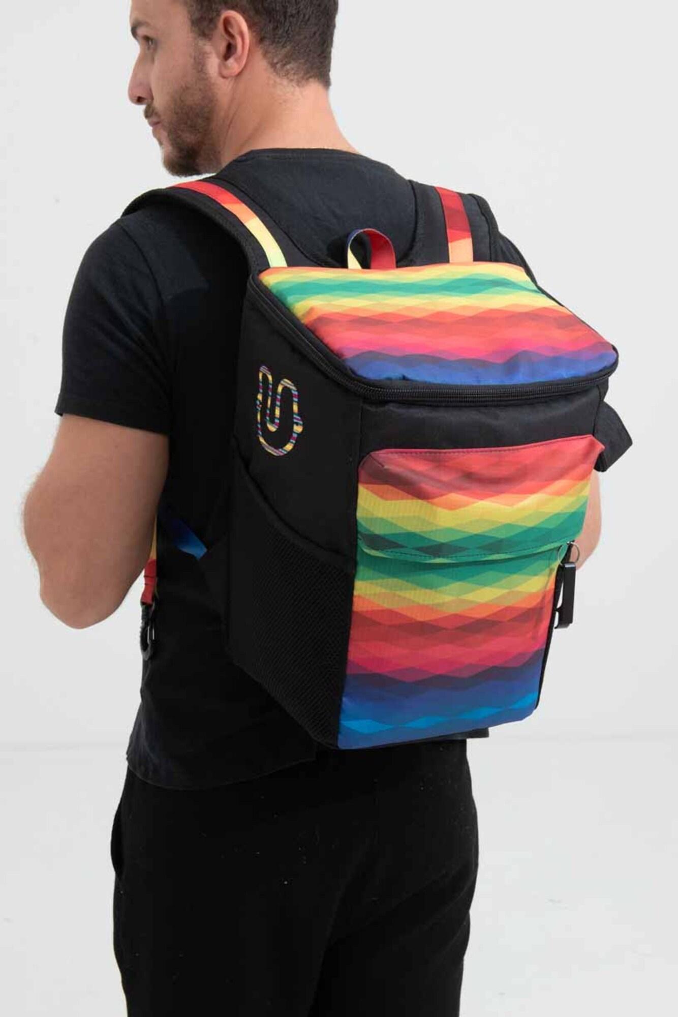 Hug Bag Mochila Térmica Arco-iris