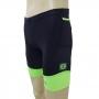 Bermuda Triathlon R2L War Preta/Verde Masc