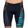 Bermuda Triathlon Woom 140 Ultra Azul/Laranja  Masc