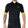 Camisa Ciclismo DX3 Fusion 04 Preta/Amarela Masculina