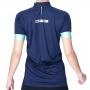 Camisa Ciclismo DX3 Fusion 05 Marinho/Verde Feminina