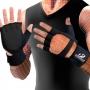 Luva Musculação Hammerhead c/ Suporte p/ Punho Preta