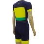 Macaquinho Triathlon R2L Attack Verde e Amarelo Masc
