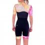 Macaquinho Triathlon Woom Linha 140 Dolce Amarelo Feminino