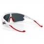 Óculos de Sol Hupi Bornio Branco/ Vermelho