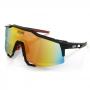 Óculos de Sol Hupi Stelvio Preto/ Vermelho