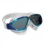 Óculos Natação Aqua Sphere Vista Turquesa Lente Fumê