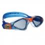 Óculos Natação Junior Aqua Sphere Kayenne Azul Lente Fumê