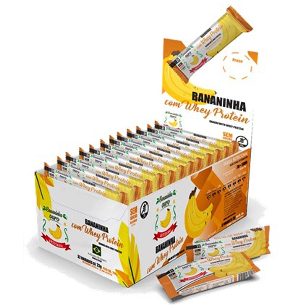 Bananinha com Whey Protein Isolada Ouro 32 unidades