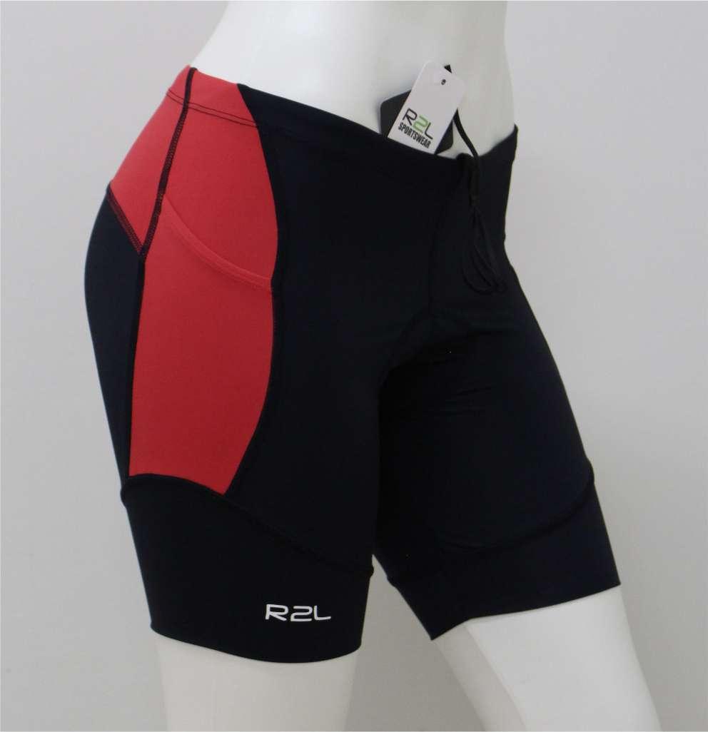 Bermuda Triathlon R2L Attack Vermelha Fem