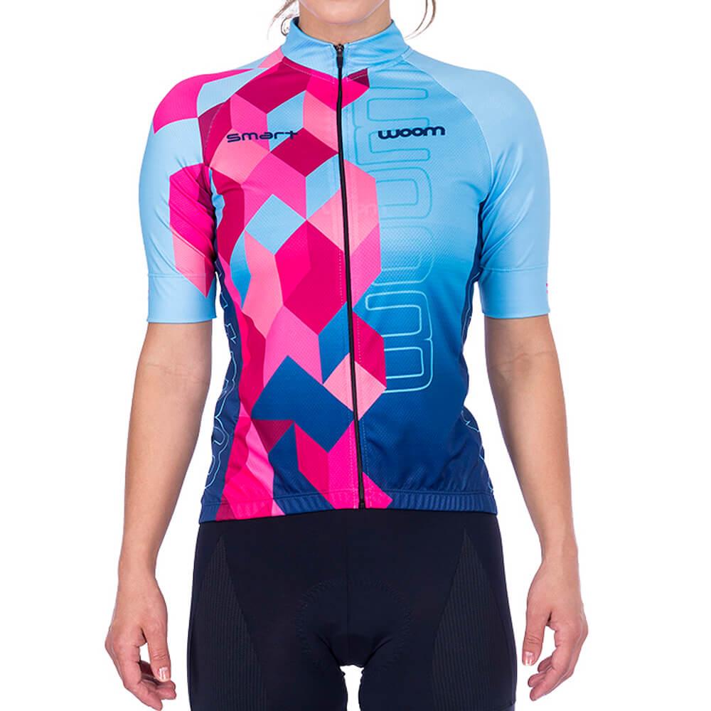 Camisa Ciclismo Woom Smart 2021 Mila Fem