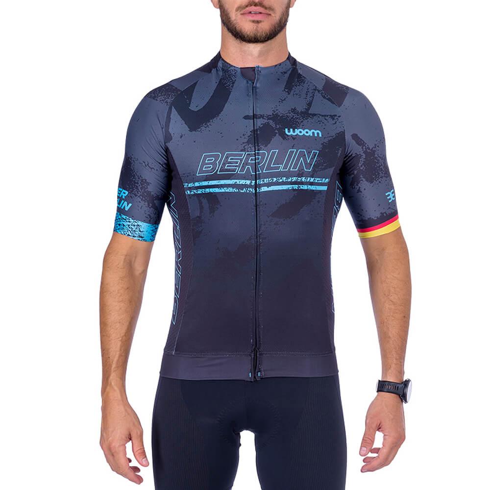 Camisa Ciclismo Woom Supreme 2021 Berlin Masc