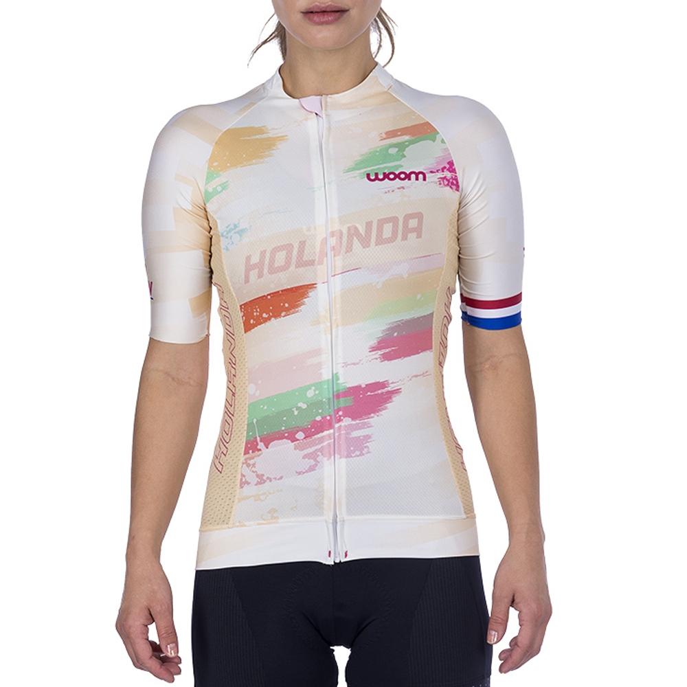 Camisa Ciclismo Woom Supreme Holanda 2021 Fem