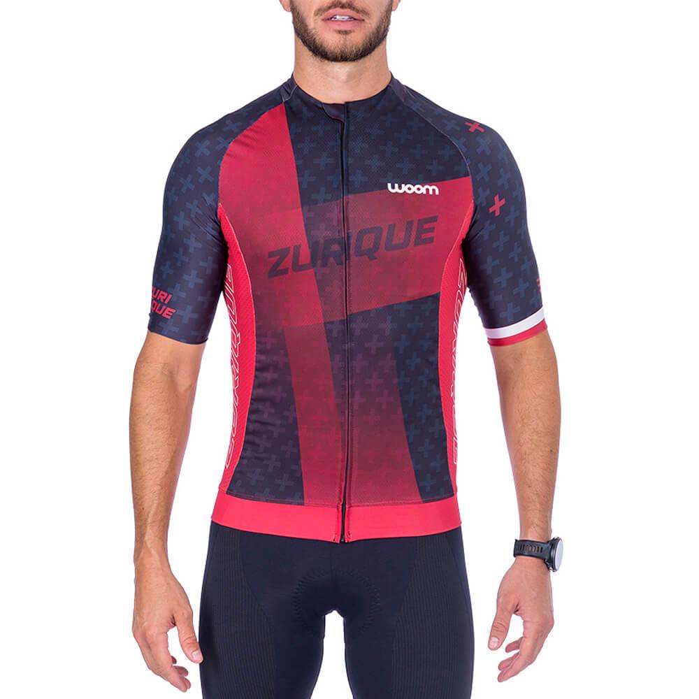 Camisa Ciclismo Woom Supreme 2021 Zurique Masc