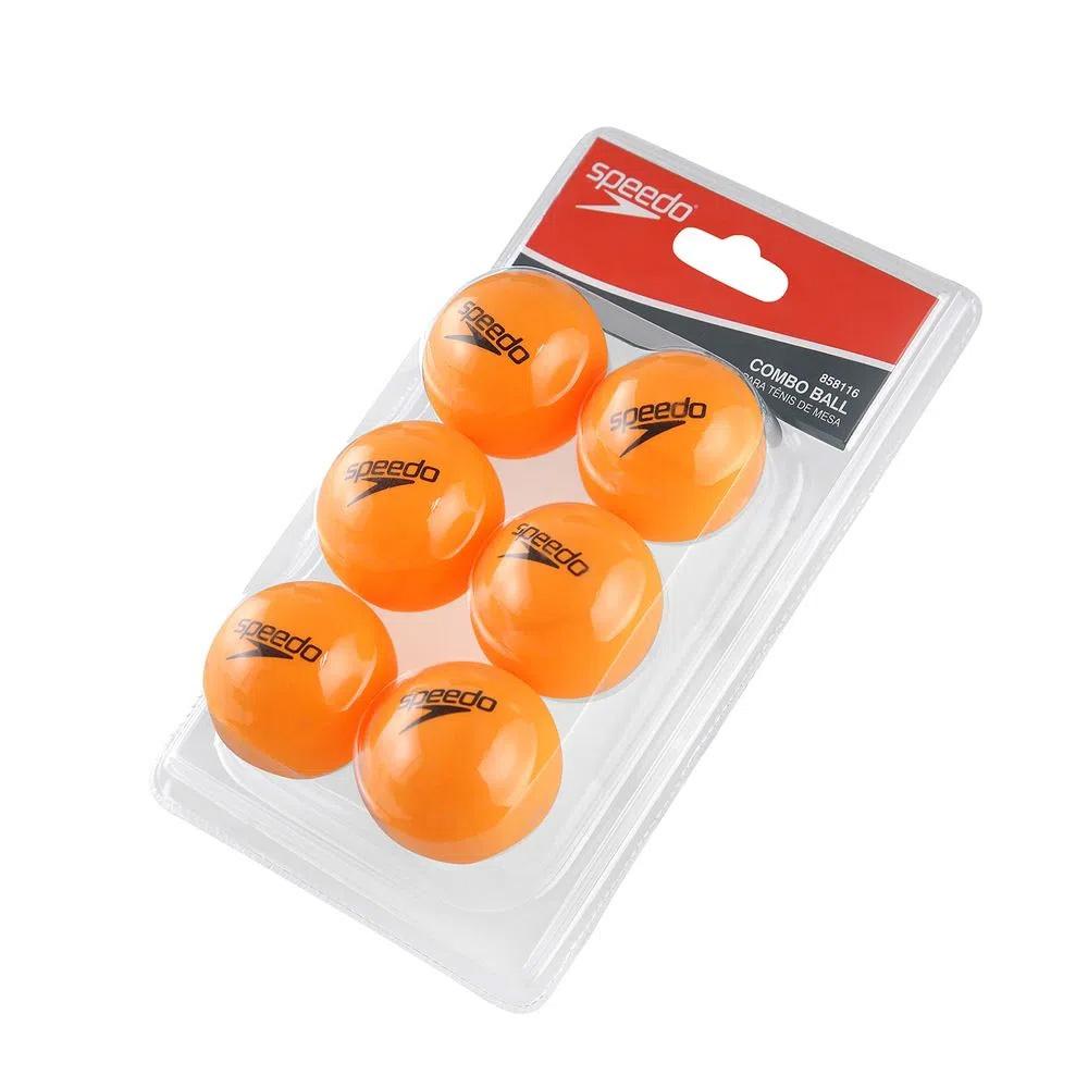 Combo Ball p/ Tênis de Mesa Speedo com 6 Bolas