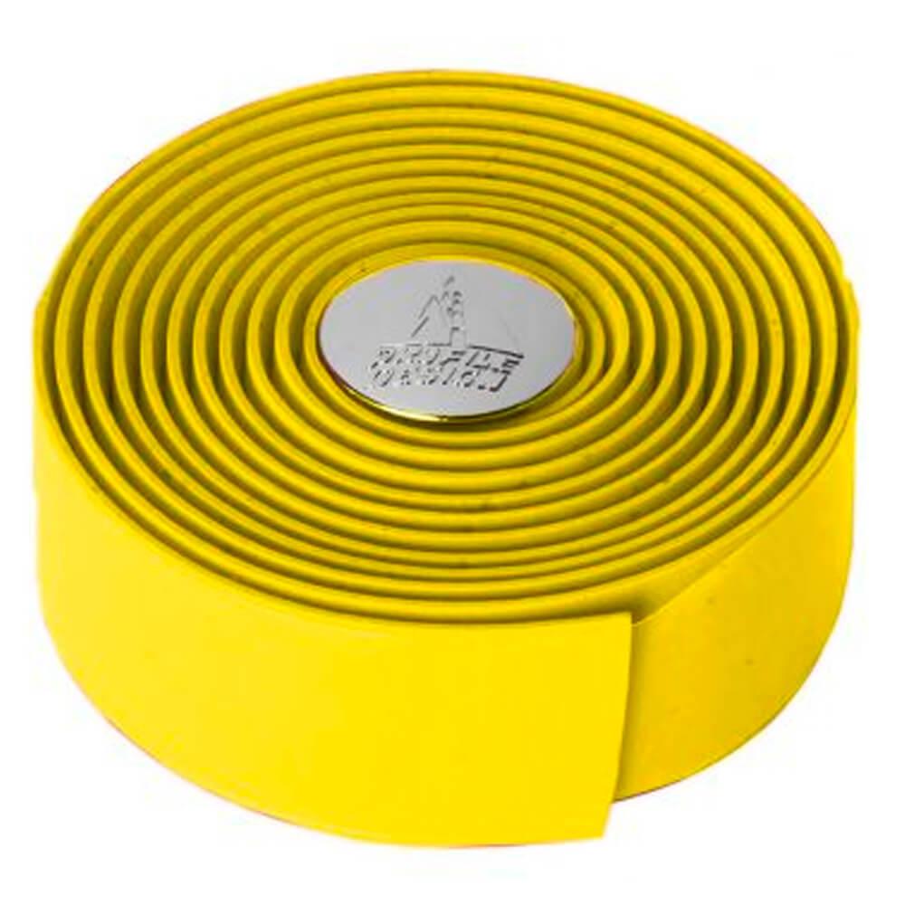 Fita de Guidão Profile Design Cork Wrap Tacor9 Amarelo